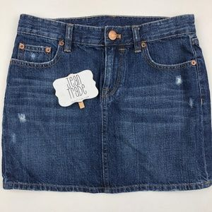 J.Crew Denim Jean Skirt